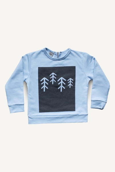 frosty trees sweatshirts