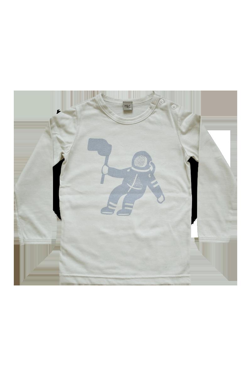 kozmonaut tričko dlhý rukáv