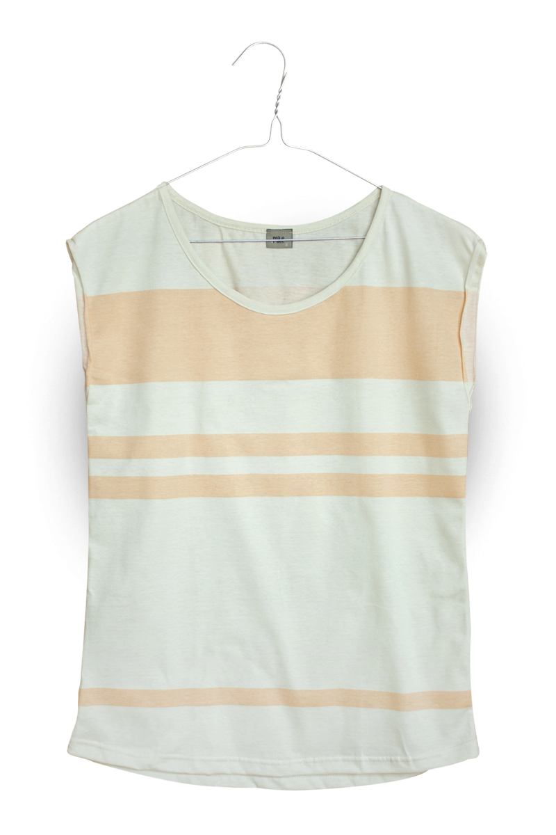 pruhy dámske tričko