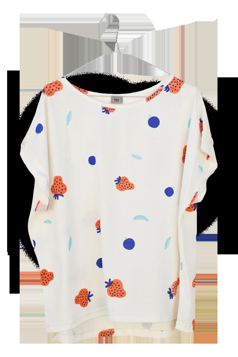 jahody dámske tričko