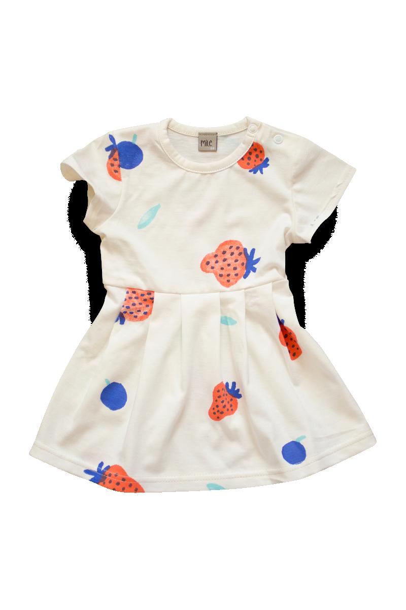 jahody šaty