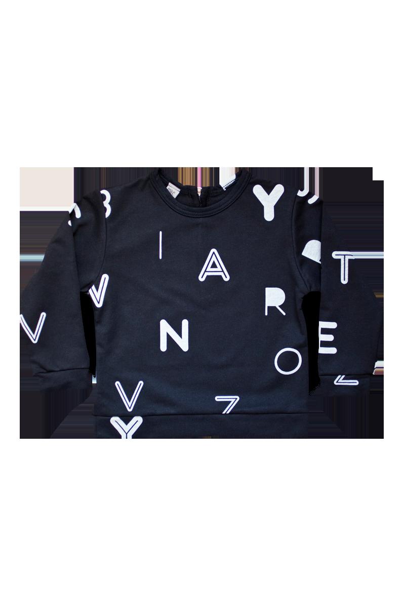 letters sweatshirts