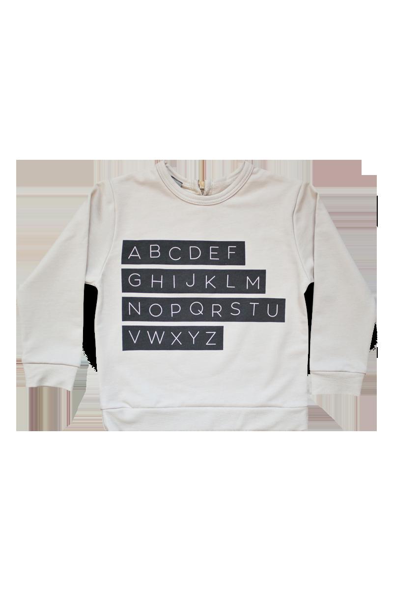 alphabet sweatshirts