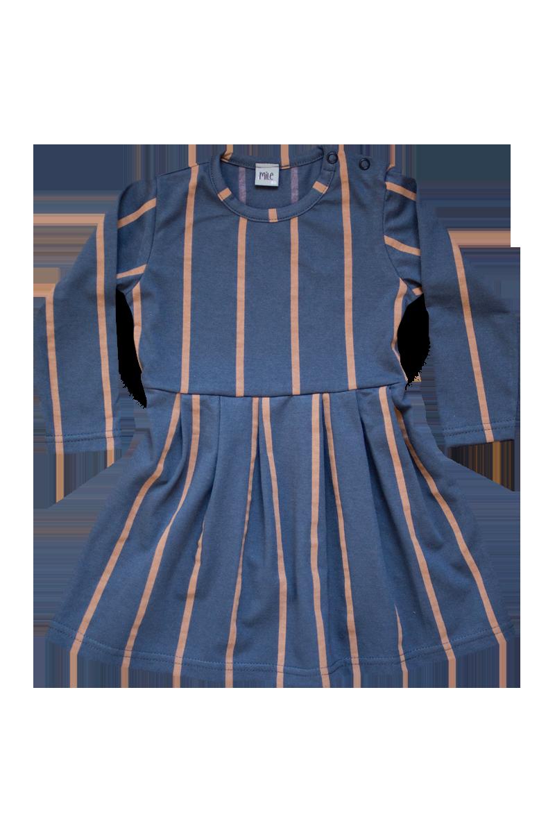prúžky šaty