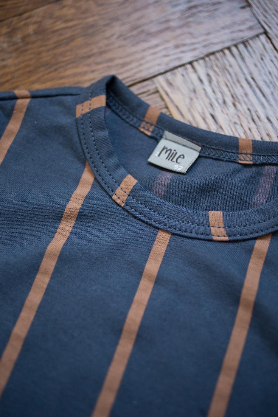 prúžky tričko dlhý rukáv