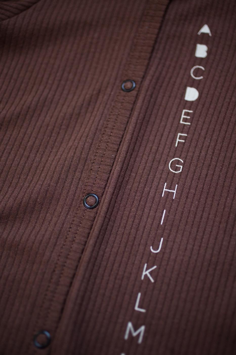alphabet overalls