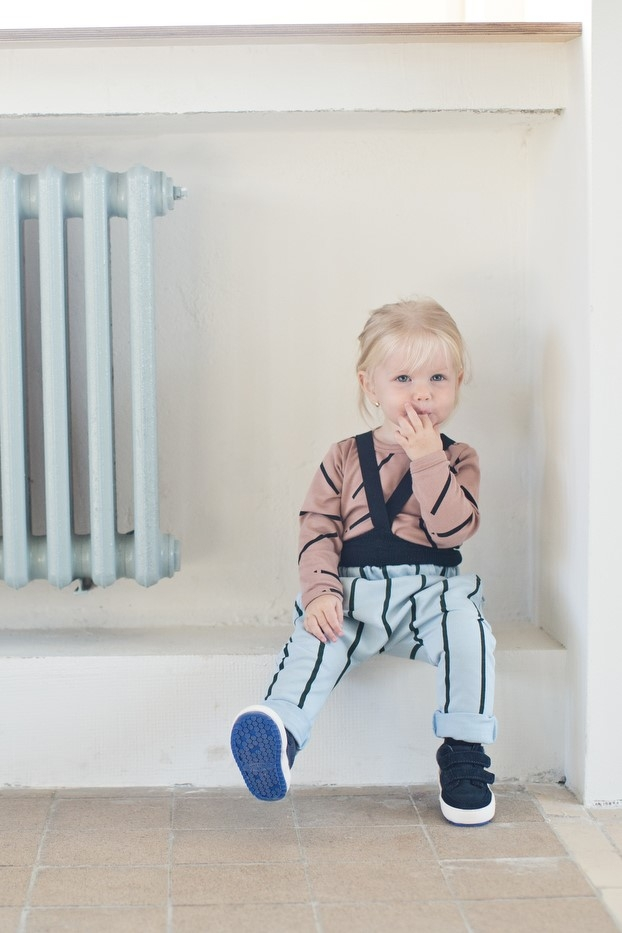 stripes trousers and tracksuit