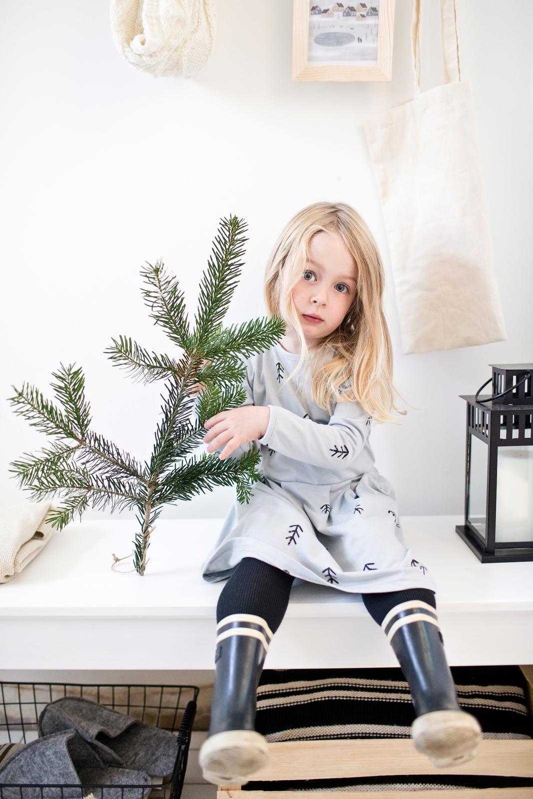 stromčeky bavlnené šaty
