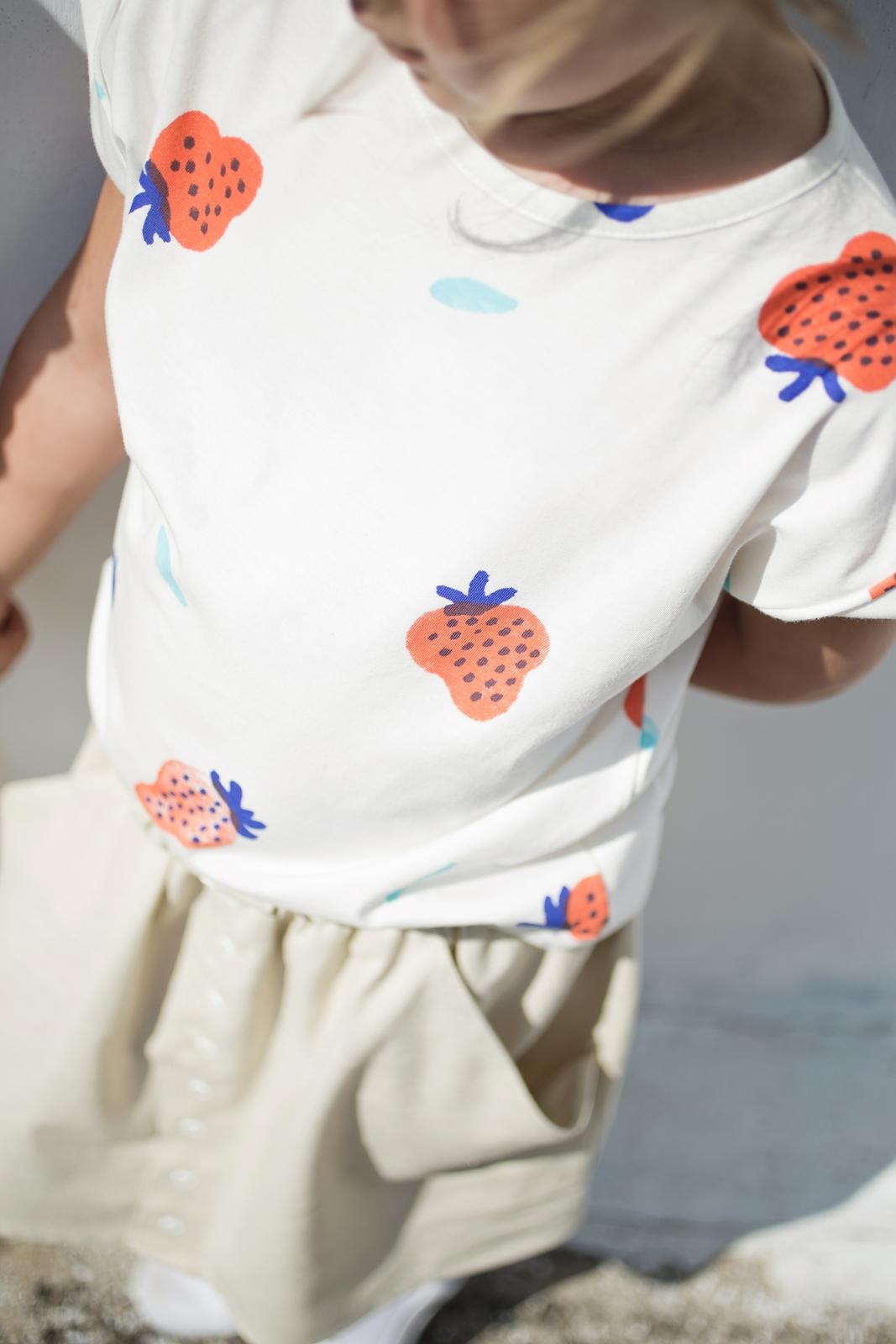 jahody tričko