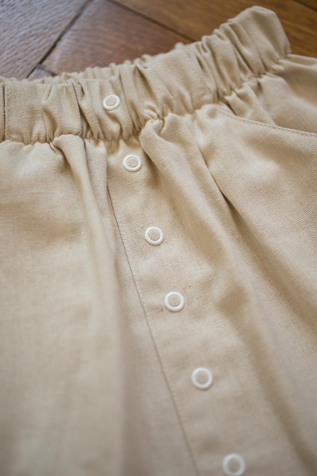 sukňa piesková