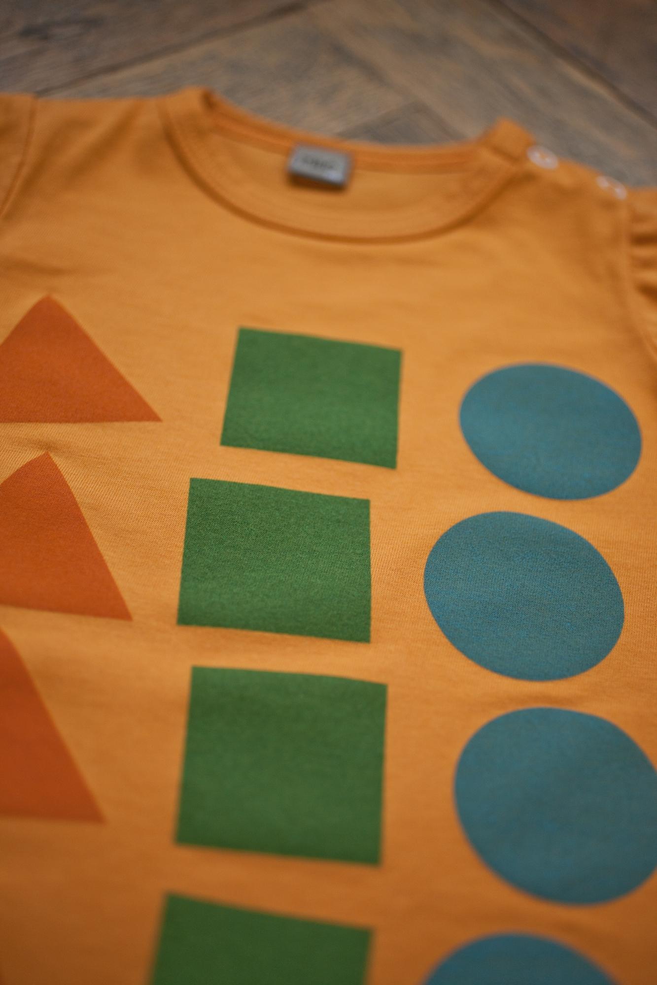 hravá oranžová tričko krátky ruk