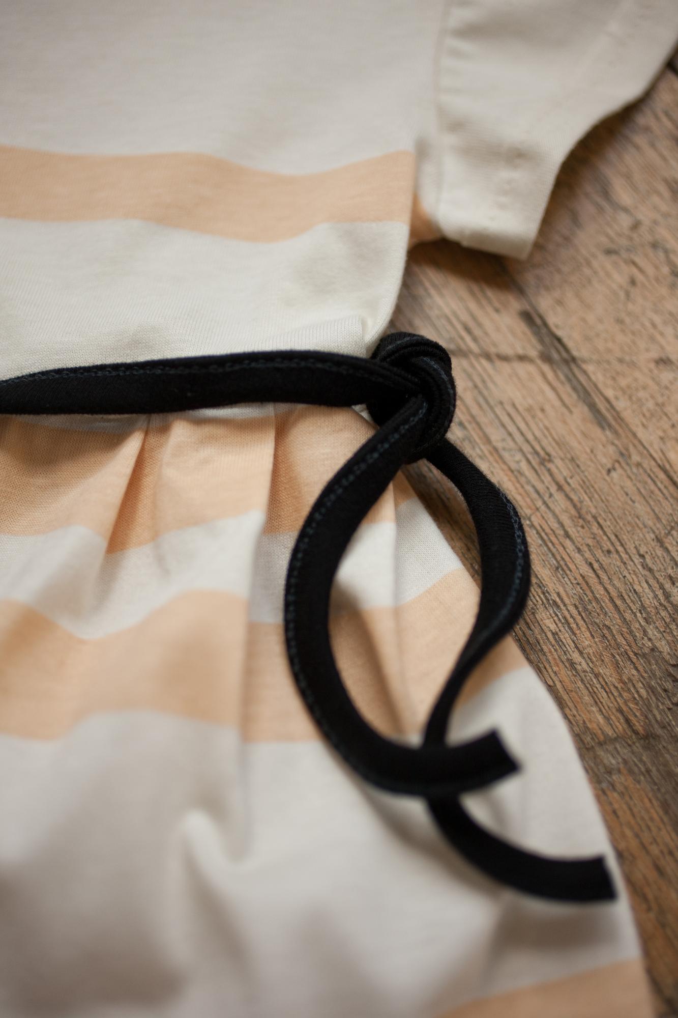 pruhy šaty