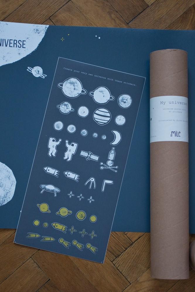 môj vesmír poster