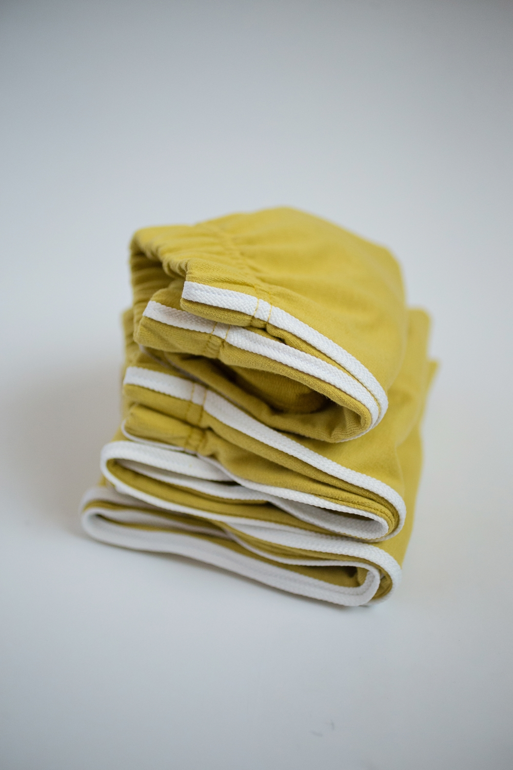 yellow trousers and tracksuit