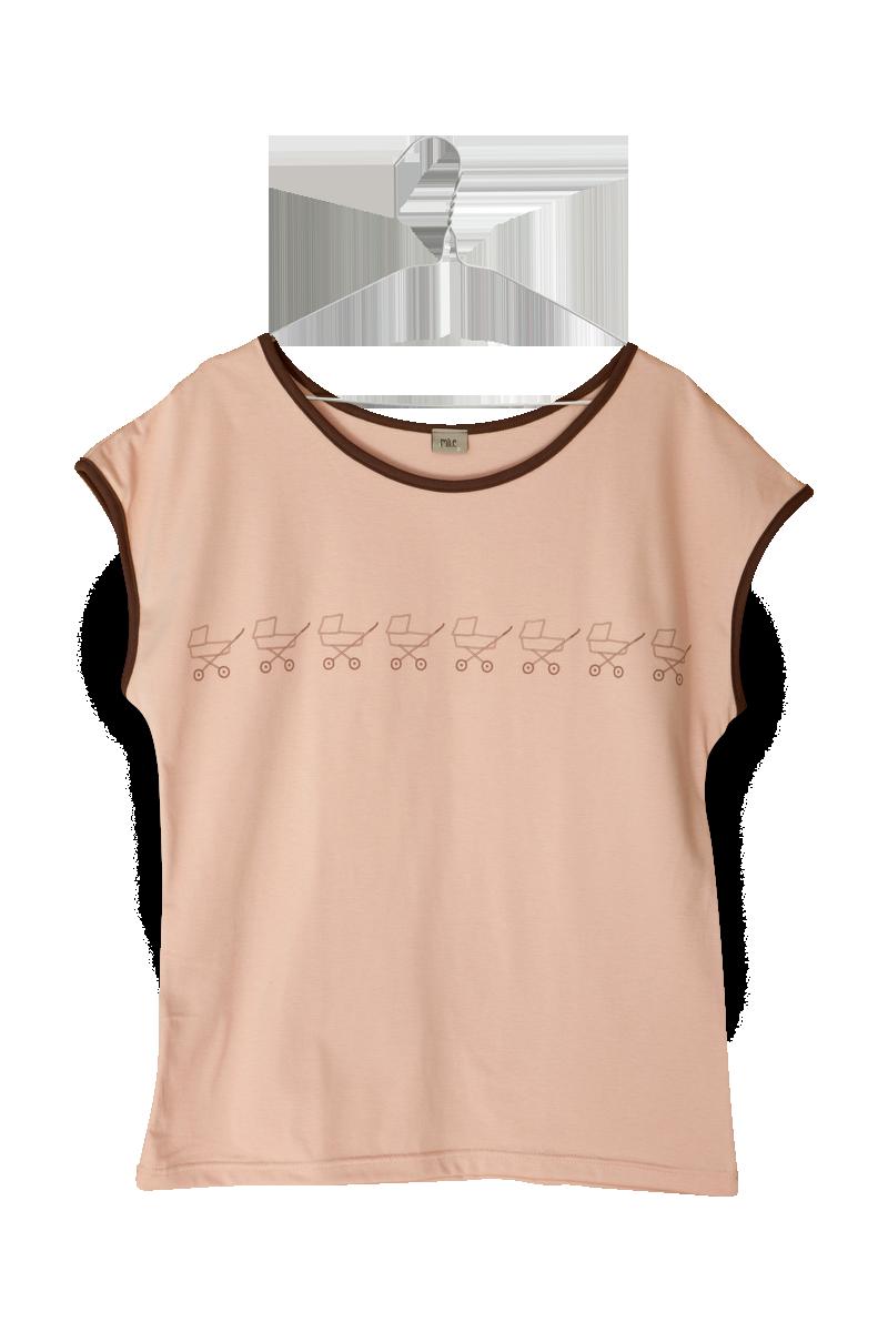 kočíky dámske tričko