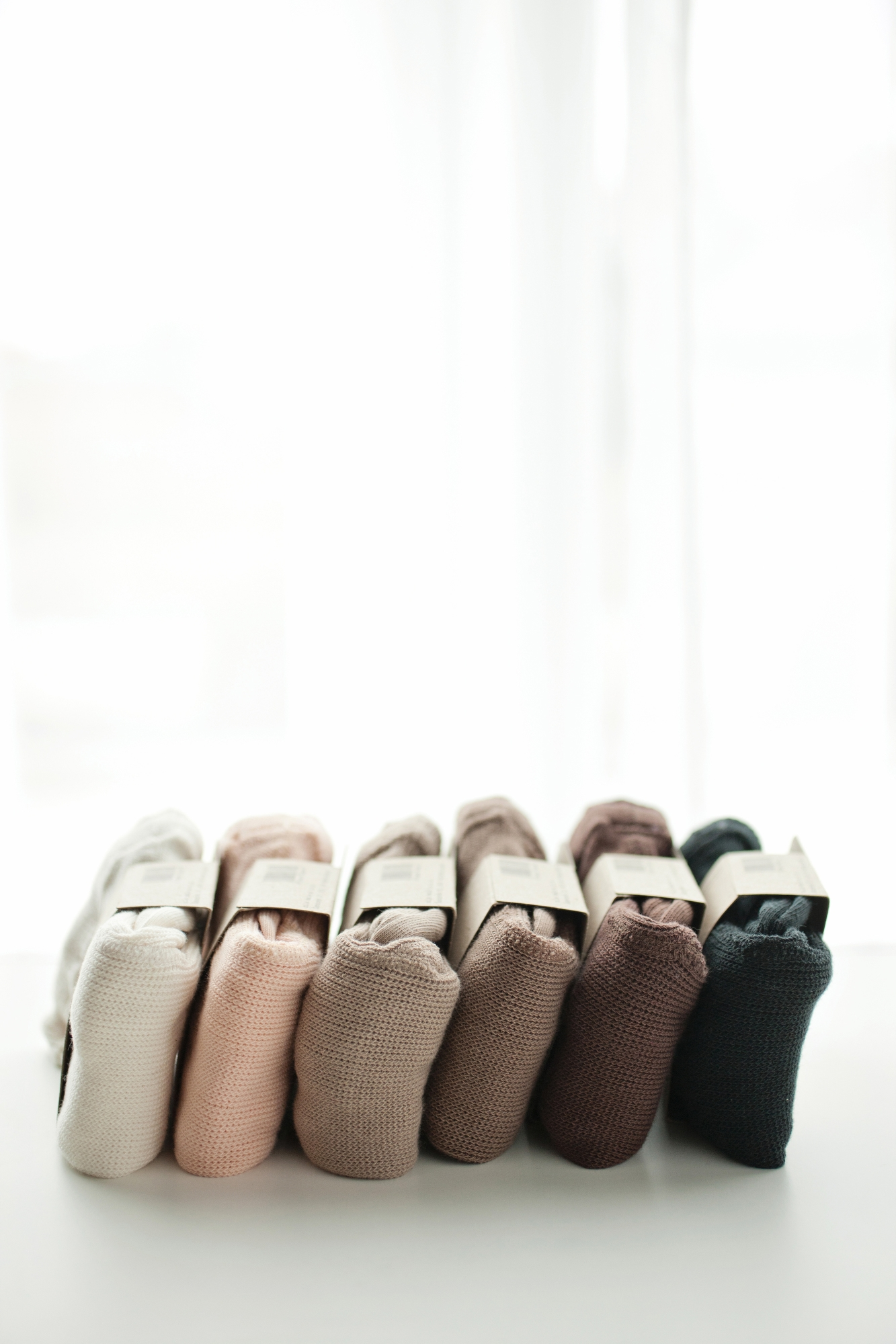 brown-beige tights with braces