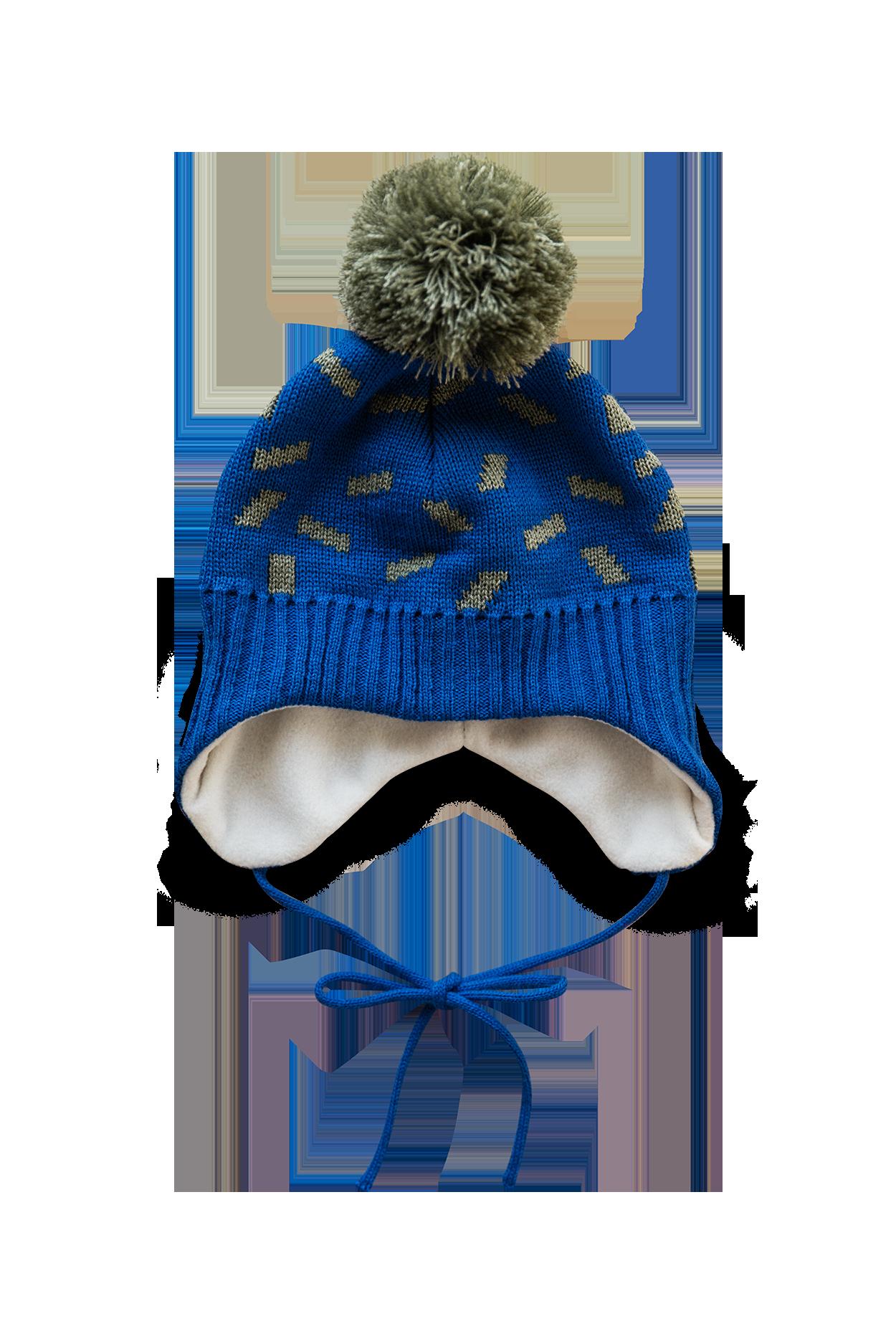 atramentová čapica s uškami